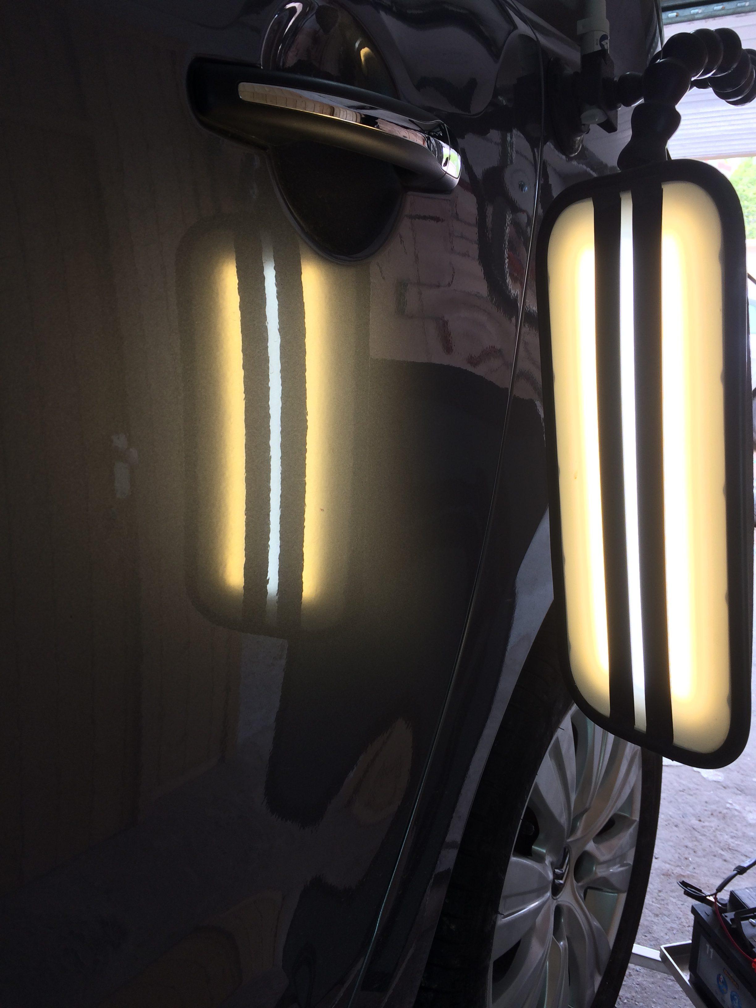Lumière de réparation